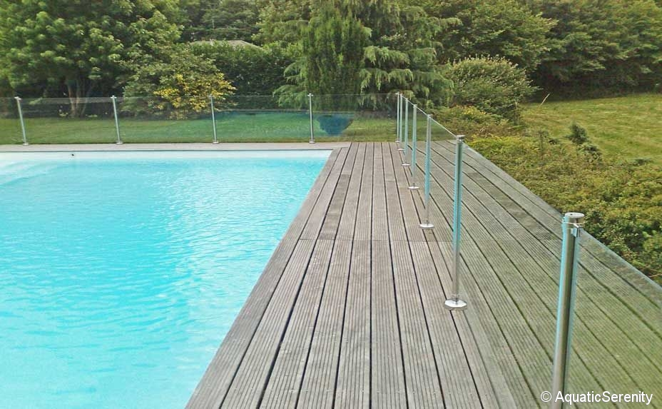 Barri res en verre inox s curit piscine informations for Barriere de piscine